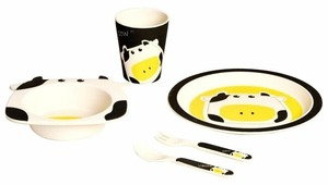 Комплект посуды Eco Baby Буренка
