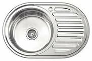 Врезная кухонная мойка Ledeme L87750-L