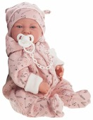 Кукла Antonio Juan Алехандра в розовом, 40 см, 3374P