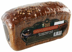 Рижский ХЛЕБ Хлеб Бородинский пшенично-ржаной заварной бездрожжевой в нарезке 300 г
