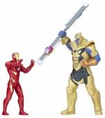 Фигурки Hasbro Мстители. Война бесконечности. Железный человек против Таноса E0559