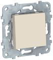 Кнопочный выключатель (кнопка) Schneider Electric NU520644,10А, бежевый