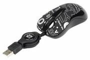 Мышь G-CUBE GLCR-61B USB