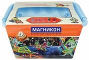 Магнитный конструктор Магникон Мастер MK-48