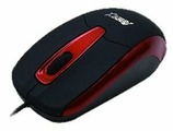 Мышь Aneex E-M586 Black-Red USB