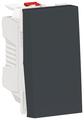 Кнопочный выключатель (кнопка) Schneider Electric NU310654,10А, антрацит
