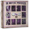 Набор головоломок Eureka 3D Puzzle 10 Metal Puzzles purple set (473359) 10 шт.