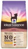 Корм для кошек Hill's Ideal Balance беззерновой, с курицей