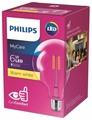Лампа светодиодная Philips LEDClassic 3000K, E27, G93, 6Вт