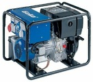 Дизельный генератор Geko 7801 ED-AA/ZEDA (5100 Вт)