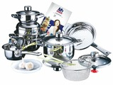 Набор посуды Millerhaus MH-1988 17 пр.