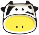 Тарелка Bambooware Корова