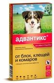 Адвантикс (Bayer) Капли на холку для собак 10–25 кг (4 пипетки)