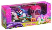 Shenzhen Toys карета с лошадью и всадником (269)