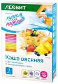 ЛЕОВИТ Худеем за неделю Каша овсяная с витаминами и микроэлементами (ассорти)