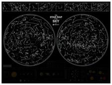 1DEA.me Карта звездного неба Star Map of the Sky
