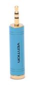 Переходник Vention jack 6.3 mm F - mini jack 3.5 mm M (VAB-S04-L)