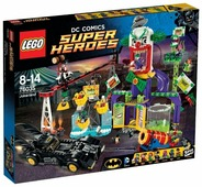 Конструктор LEGO DC Super Heroes 76035 Джокерлэнд