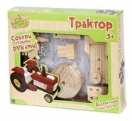 Винтовой конструктор Mr.Wood 6213 Трактор