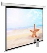 Рулонный матовый белый экран cactus MotoExpert CS-PSME-220x138-WT