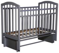 Кроватка Антел Алита-5 (маятник продольный)