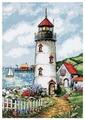 Dimensions Набор для вышивания Гобелен Lighthouse cove (Маяк в бухте) 25 х 36 см (2436)