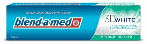 Зубная паста Blend-a-med 3D White Fresh Мятный поцелуй