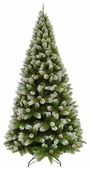 Triumph Tree Сосна Женева заснеженная с шишками 1.85