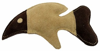 Игрушка для собак Ankur Рыбка из буйволиной кожи 18х10 см