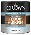 Лак Crown Quick Drying Floor Varnish полуматовый (2.5 л) акрил-уретановый