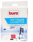 Buro BU-Udry сухие салфетки 20 шт. для оргтехники, для оптики