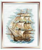 Риолис Набор для вышивания крестом Корабль 30 х 40 (479)
