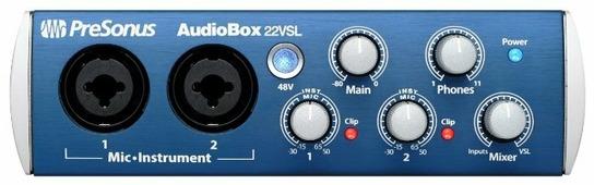 Внешняя звуковая карта PreSonus AudioBox 22VSL