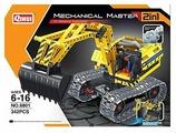 Конструктор QiHui Mechanical Master 6801 Экскаватор