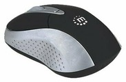 Мышь Manhattan Viva Wireless Mouse Black-Silver Bluetooth