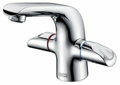 Двухрычажный смеситель для раковины (умывальника) WasserKRAFT Lossa 1203