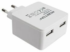 Сетевая зарядка ROBITON USB2400/TWIN
