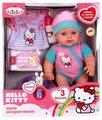 Интерактивная кукла Карапуз Hello Kitty Пупс с музыкальным горшком 30 см 11435-RU