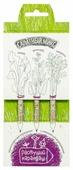 Эйфорд Набор чернографитных карандашей Салатный микс 3 шт (RK-01-03-01)