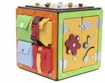 Бизиборд Занятный дом Занятный куб