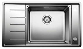 Интегрированная кухонная мойка Blanco Andano XL 6 S-IF Compact 86х50см нержавеющая сталь