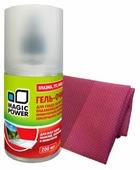 Набор MAGIC POWER MP-21031 чистящий гель+многоразовая салфетка для экрана, для оргтехники