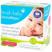 Салфетки Brush Baby BRB142 0-16 мес