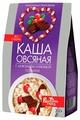Вышний город Каша овсяная моментального приготовления с шоколадом и клюквой со льном, 300 г