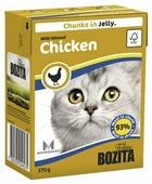 Корм для кошек Bozita с курицей 370 г (кусочки в желе)