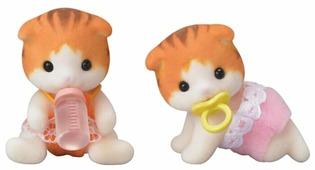 Игровой набор Sylvanian Families Рыженькие котята-двойняшки 5292