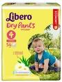 Libero трусики Dry Pants 4 (7-11 кг) 54 шт.