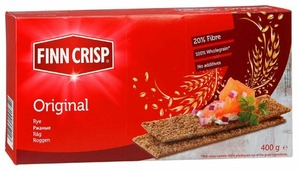 Сухарики Finn Crisp ржаные (коробка) 400 г