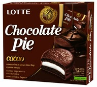 Пирожное Lotte Confectionery Choco Pie Cacao