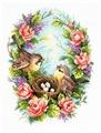 Чудесная Игла Набор для вышивания Семейное гнёздышко 19 x 25 см (64-05)